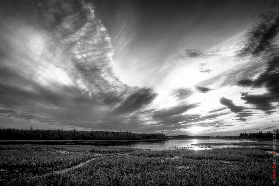 HDR alberta landscape lake photographer
