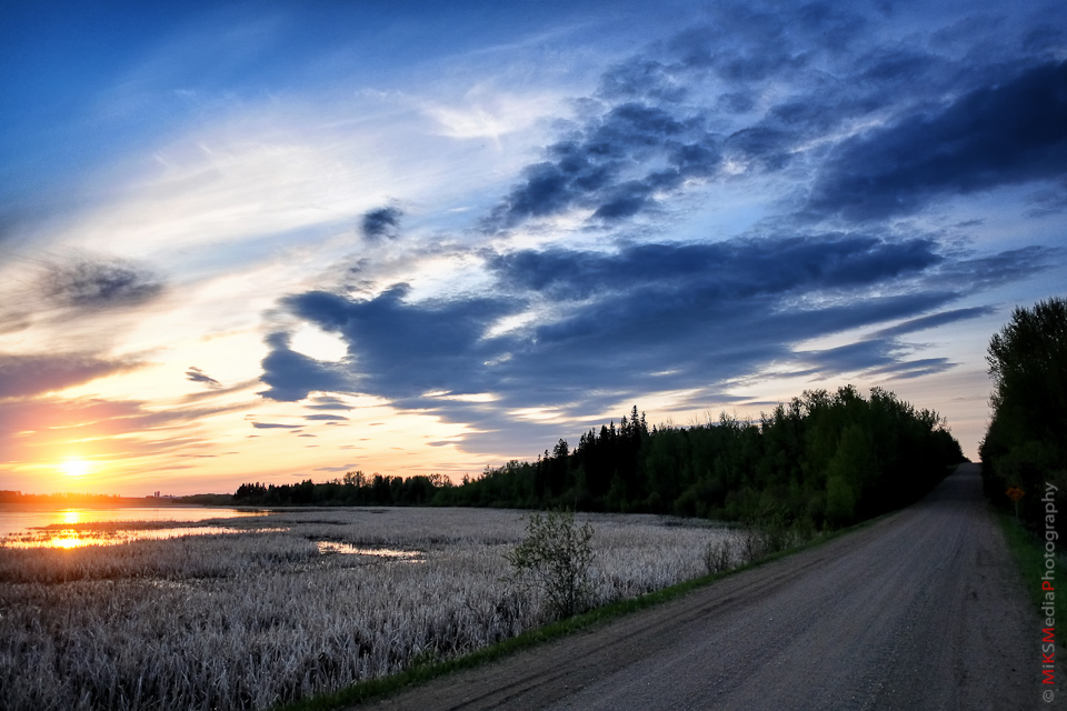 landscape road alberta road