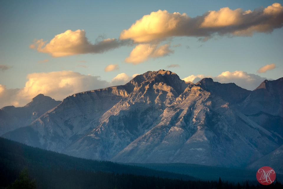sunset rockies landscape alberta photographer