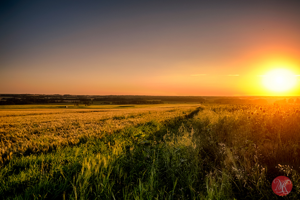 alberta landscape sunset photography