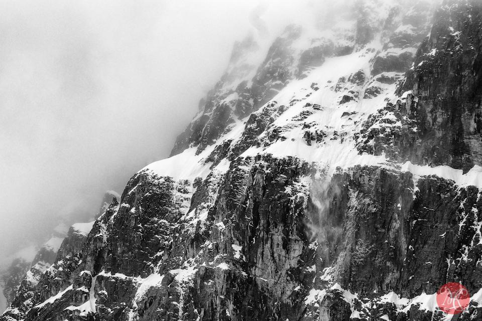 mountain snow alberta landscape jasper