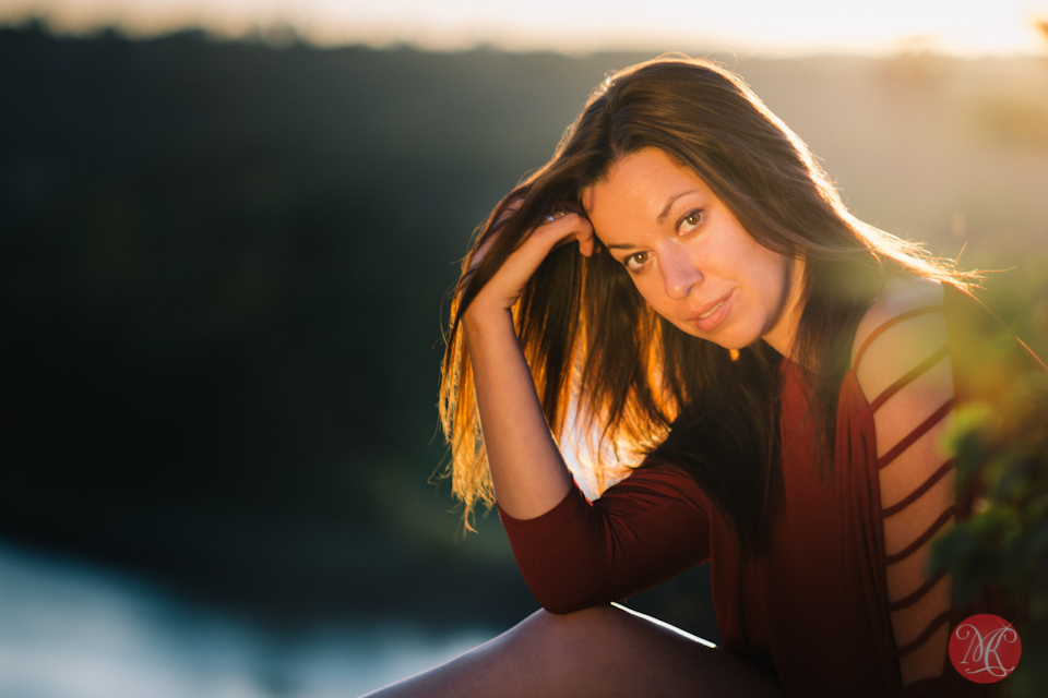 woman sunset portrait nature edmonton photographer