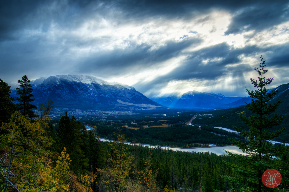 banff alberta mountain clouds landscape edmonton photographer