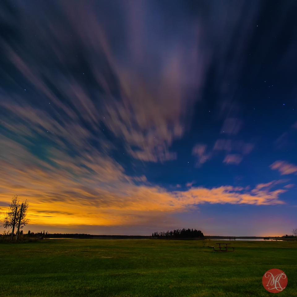 Aurora Painted Sky Miksmedia Photography