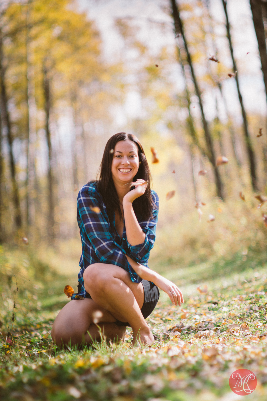 fall alberta park woman lifestyle edmonton photographer