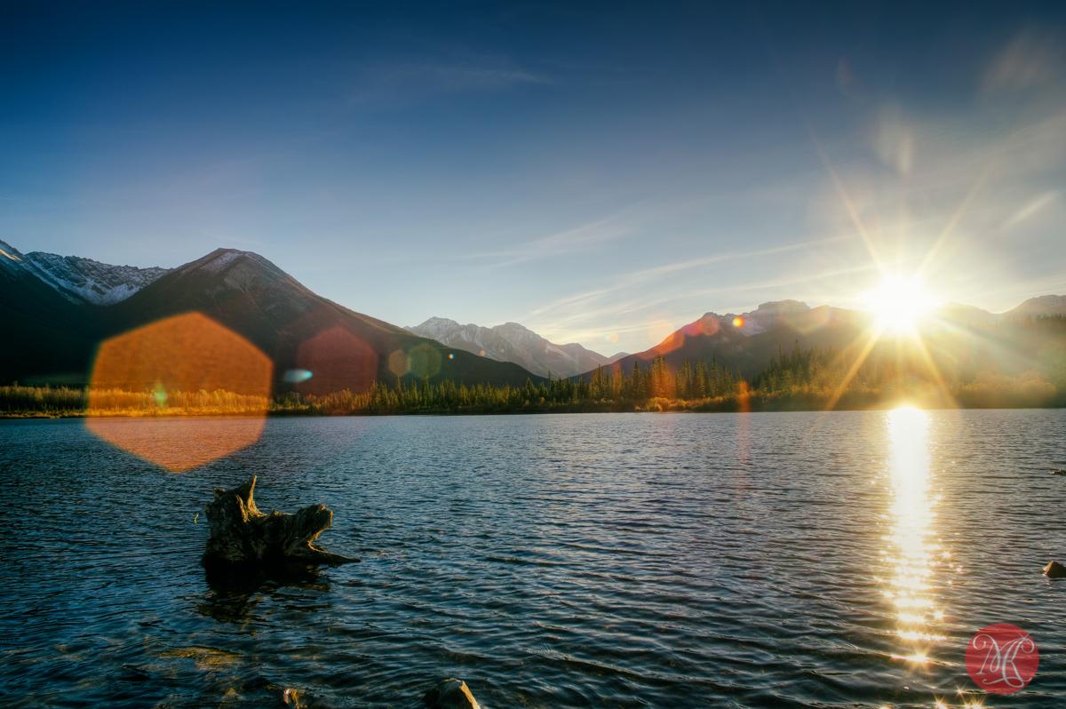 mountain landscape lake nature edmonton photography