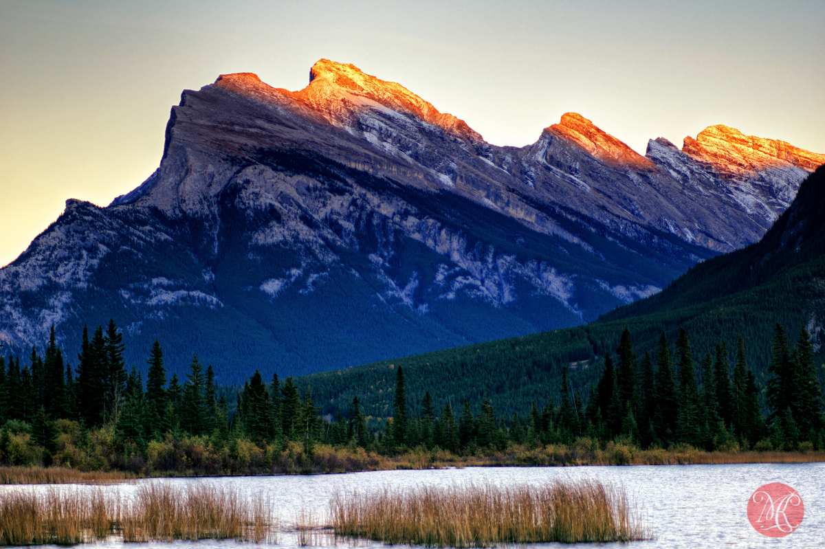 rockies landscape alberta banff