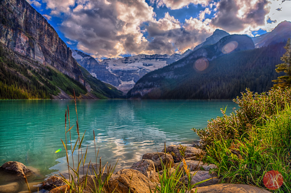 summer memories of the beautiful lake louise � miksmedia