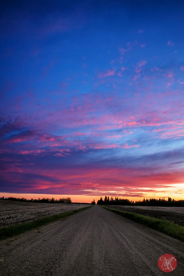 alberta-sunset-landscape-road-summer