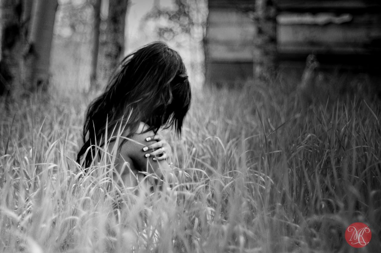 woman field nude edmonton photographer