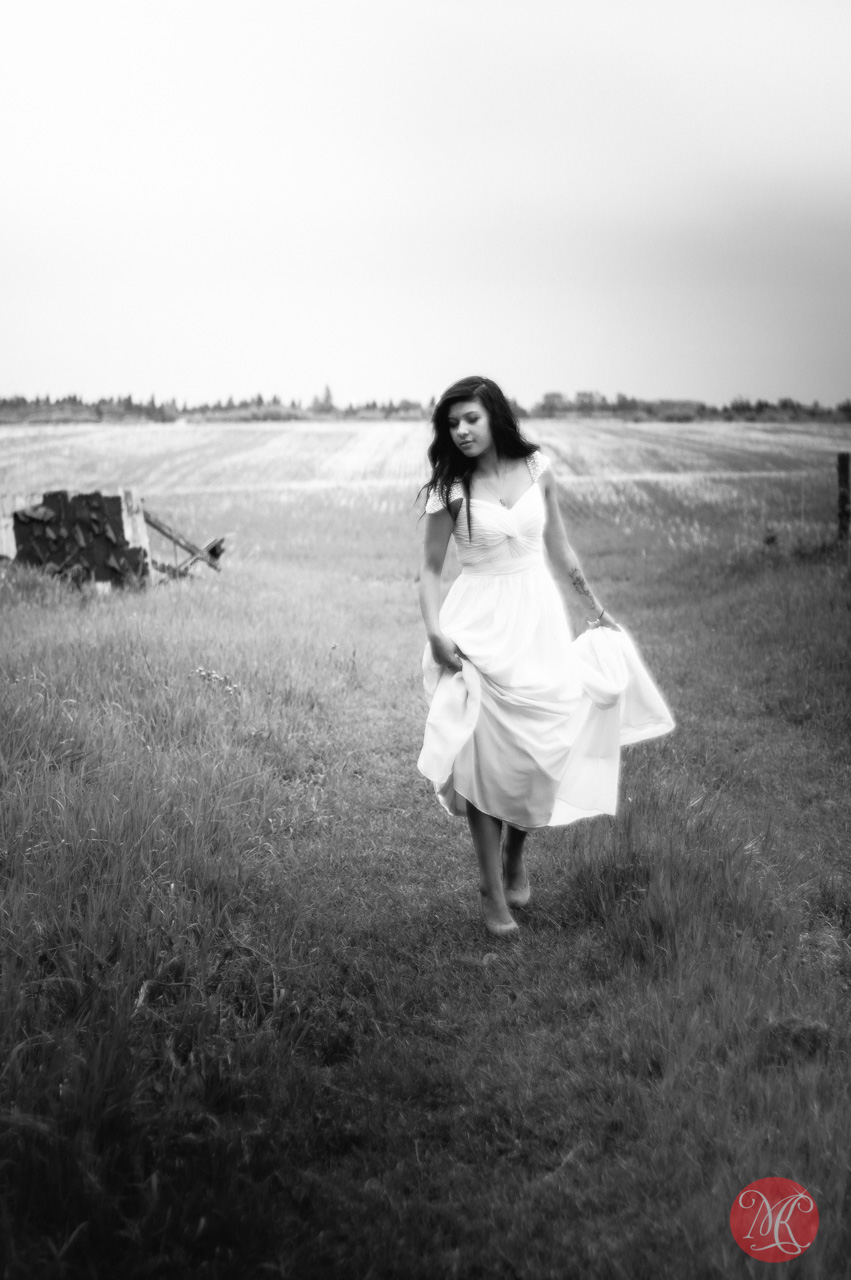 woman dress field alberta edmonton photographer