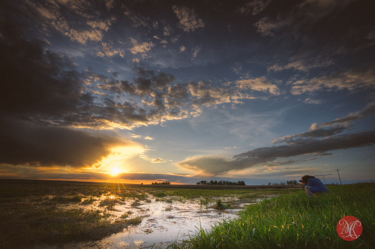 sunset landscape photographer alberta