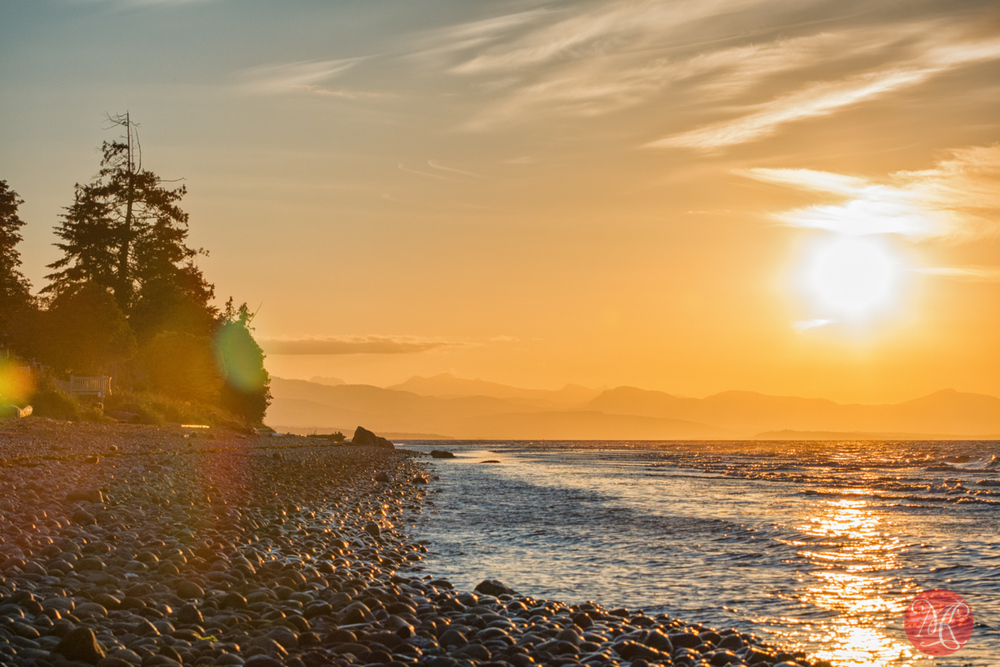 Evening at Qualicum Beach.. 3