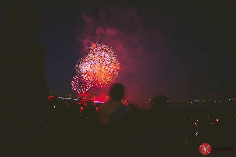 Canada Day Fireworks in Edmonton