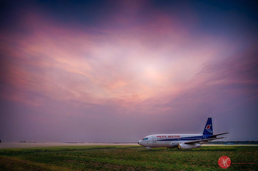 Jet on Prairie