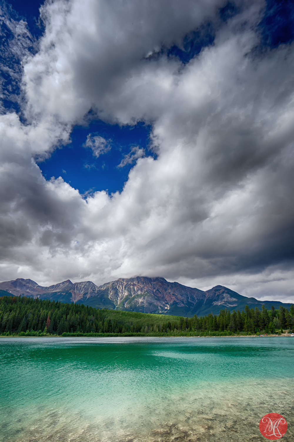 Pyramid Mountain, Patricia Lake, Jasper National Park, Alberta