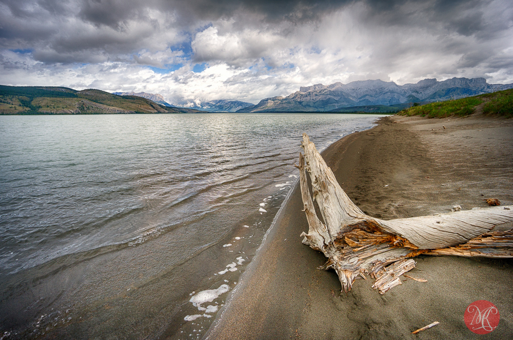 Jasper Lake, Jasper National Park, Alberta