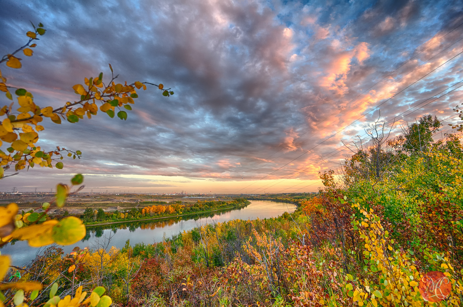 Fall In The River Valley And Beyond - Part 7 - Alberta Landscape