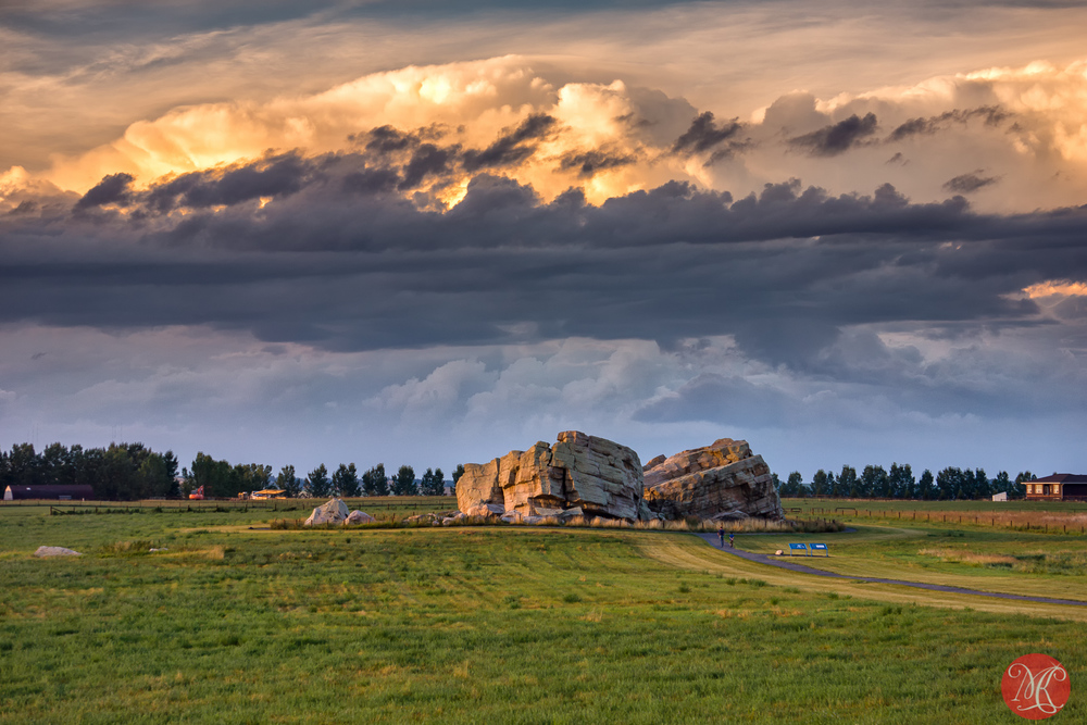 Okotoks Erratic - Alberta Landscape Photography