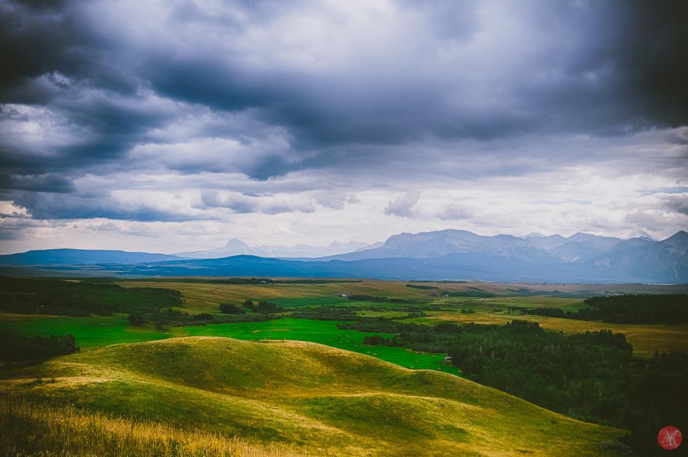 Waterton National Park - Alberta Landscape
