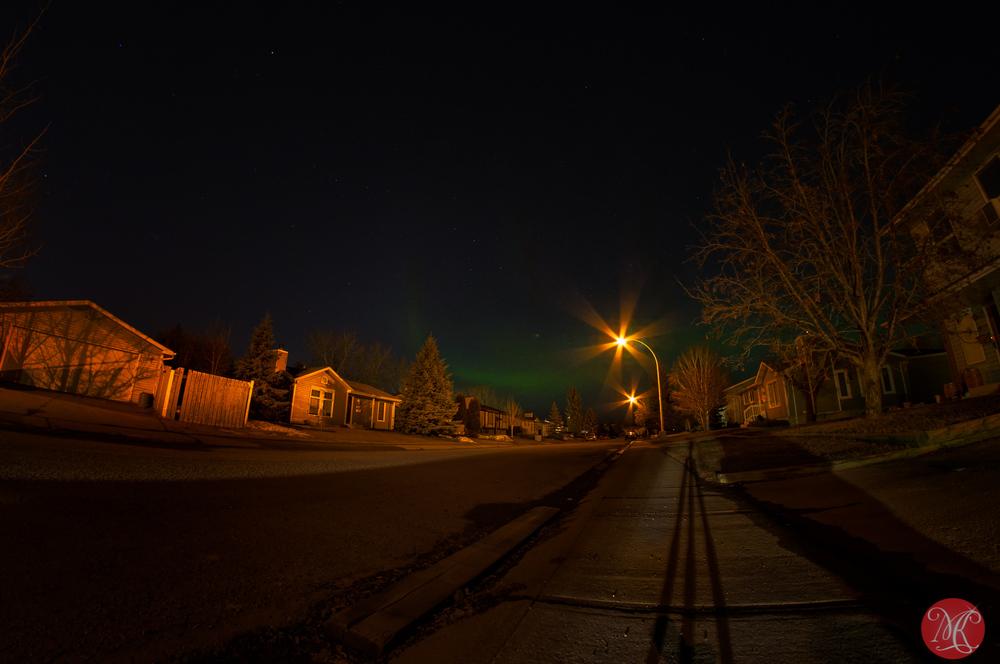 Aurora in Edmonton Alberta