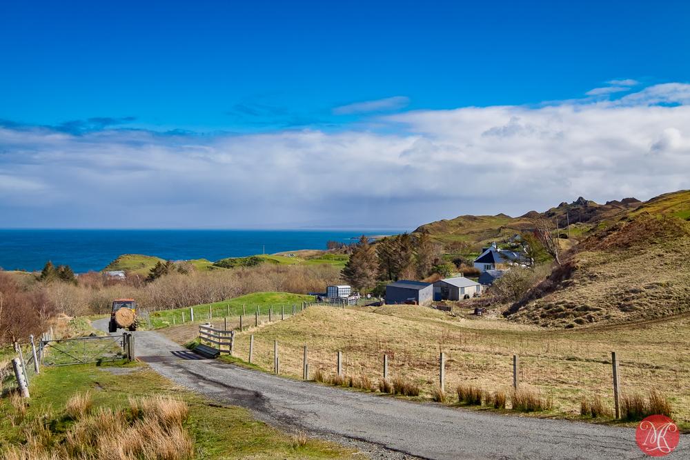 Country scene - Skye