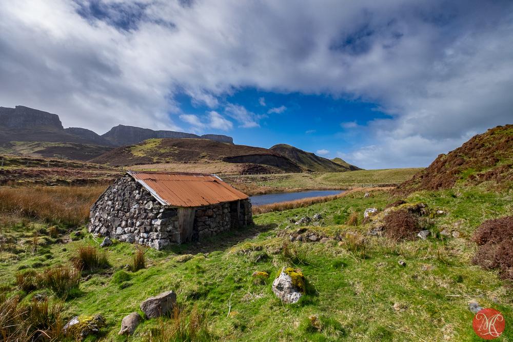 A hut by a pond 2