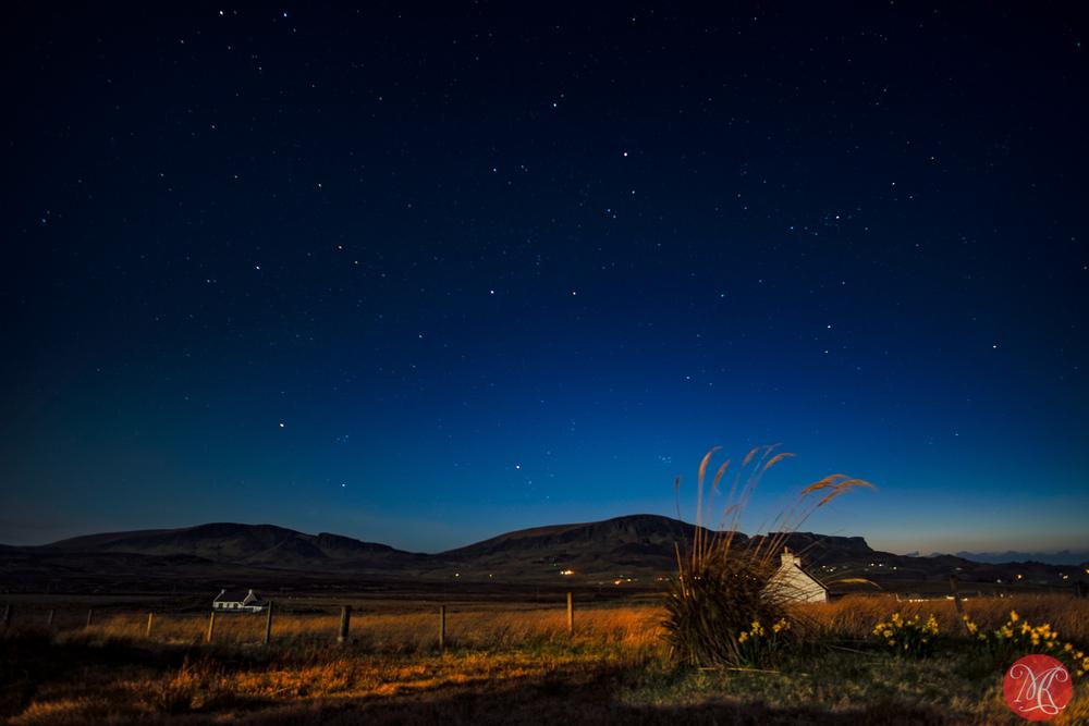 The night sky on Skye
