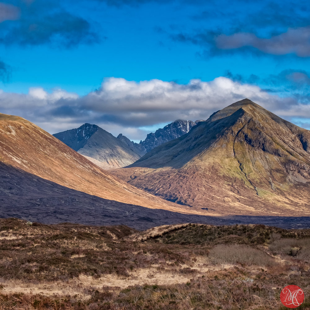Mountains on Skye