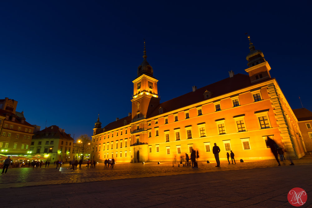Warsaw at night 8