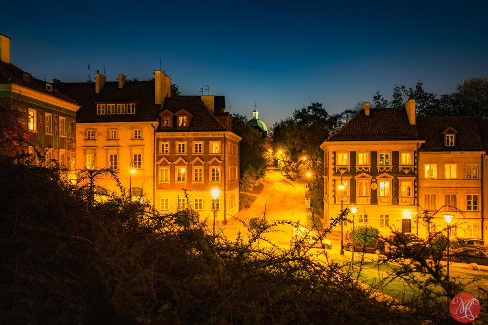 Warsaw at night 15