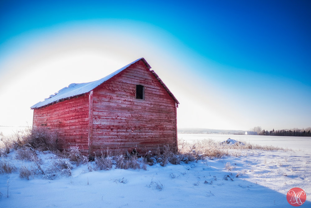 Beautiful winter on the prairies 3