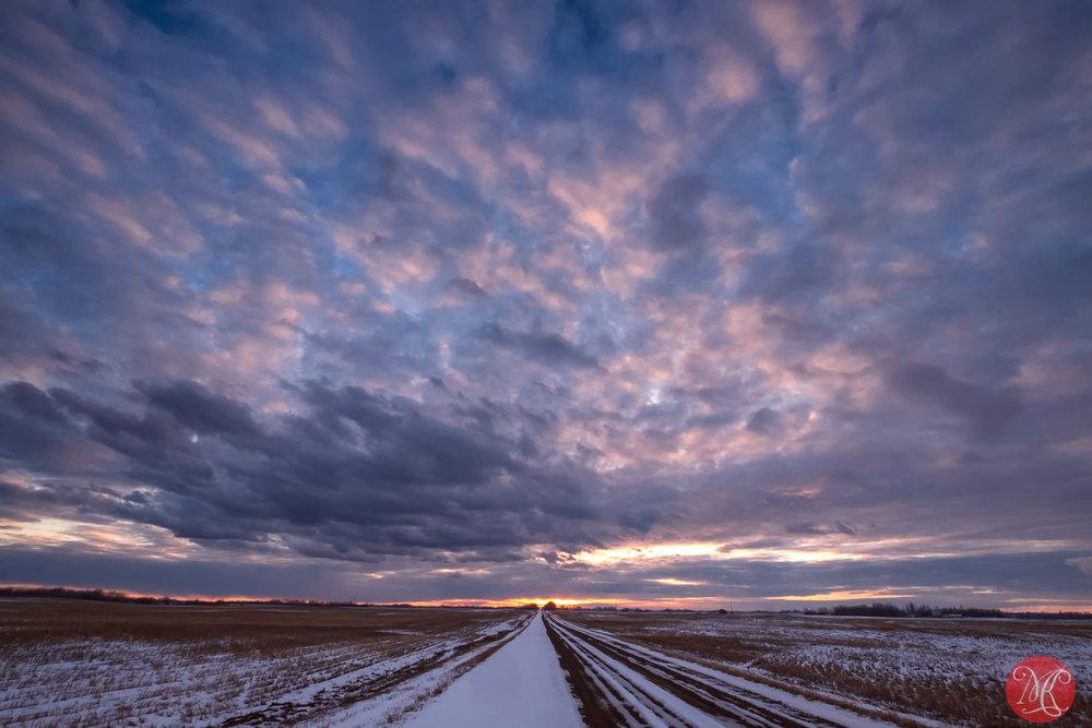 Big Alberta sky