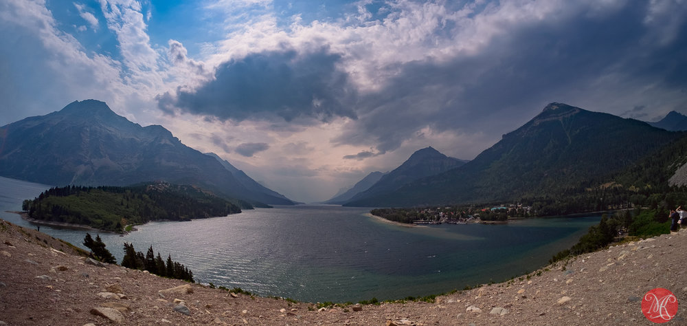 Windy Waterton Lake