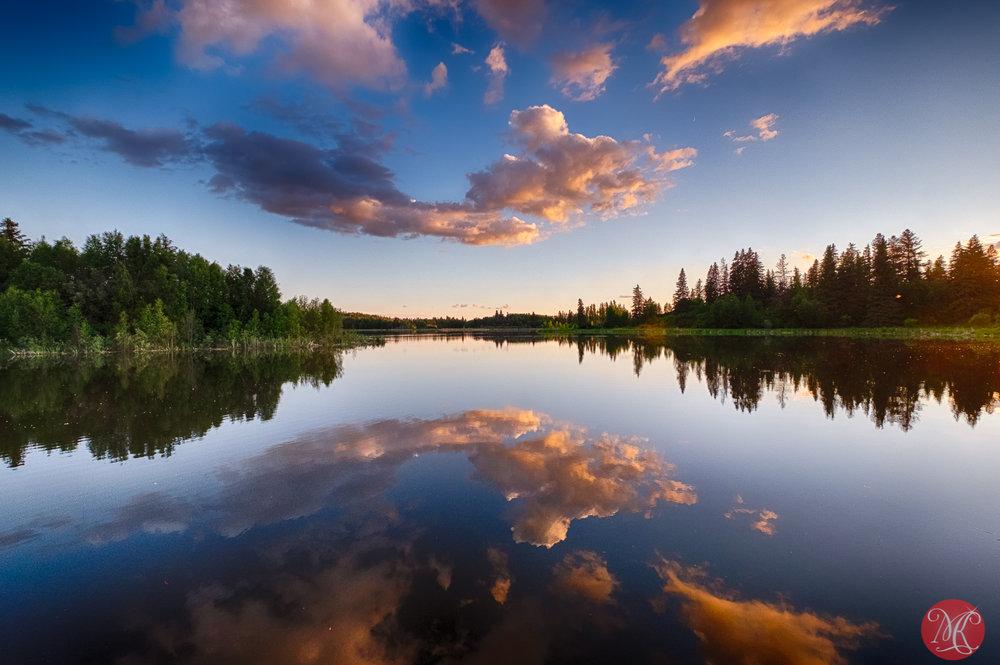 Mirroring the sky