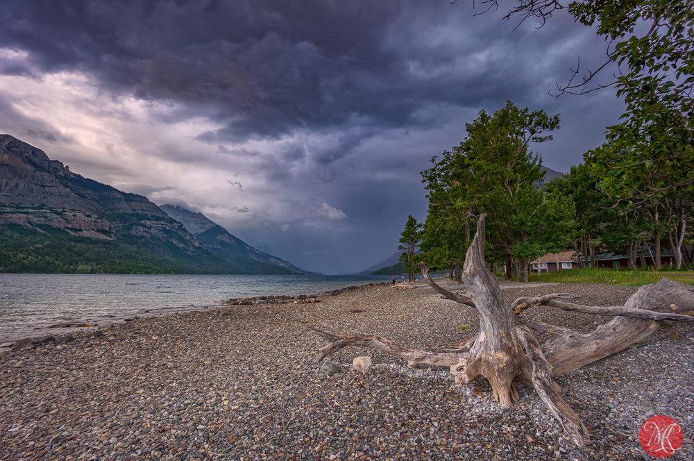 Visiting Waterton Lake