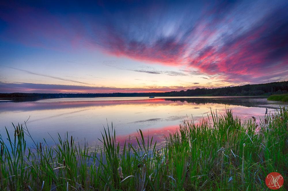Evening at Wabamun Lake 5