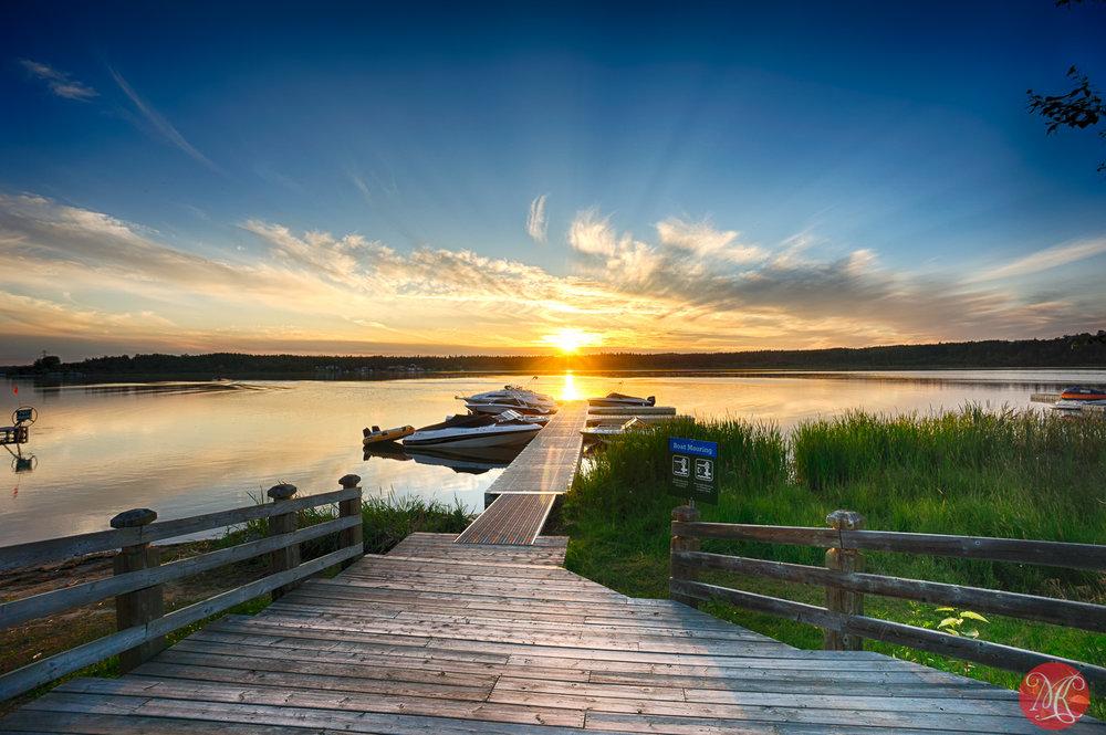 Evening at Wabamun Lake 3