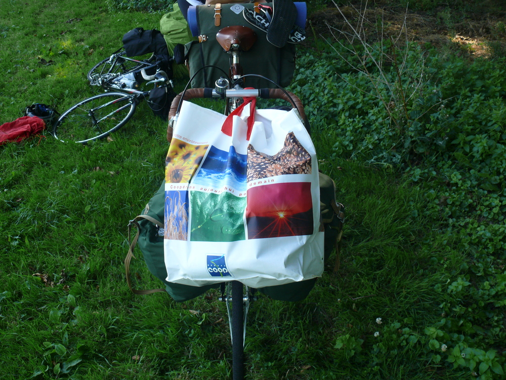bike route, bike touring, surly, pannier,