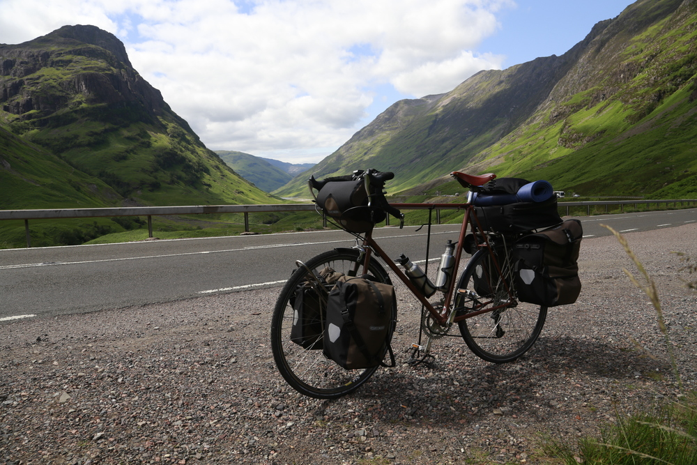 John O Groats To Lands End Bicycle Touring Apocalypse