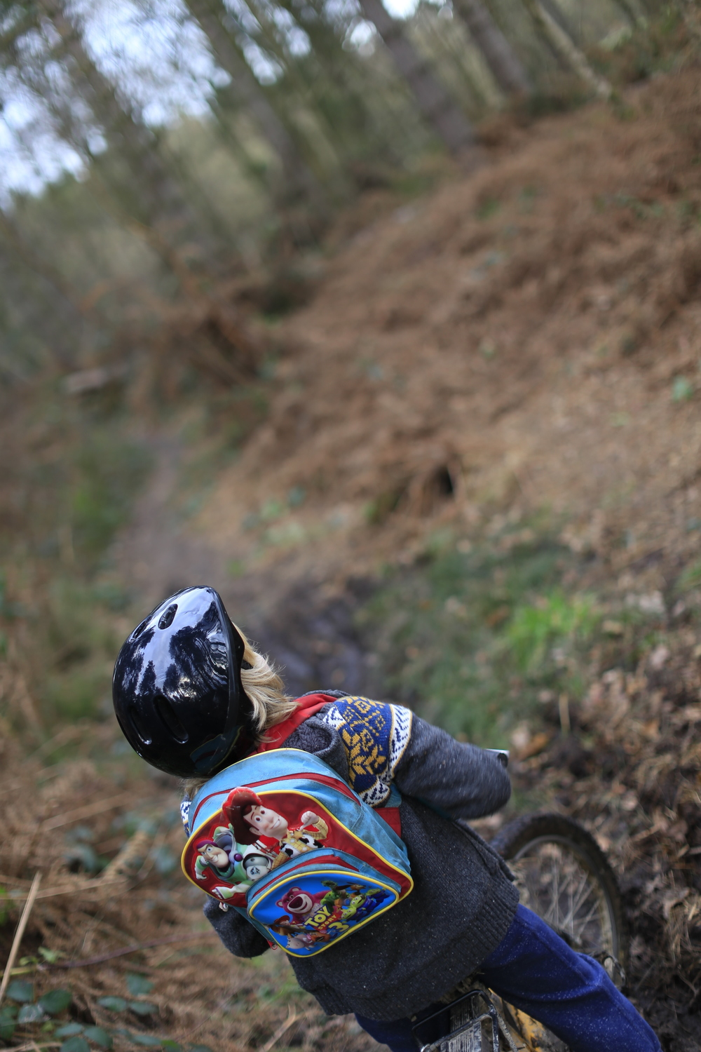 toy story, toy story rucksack, biking, singletrack, woods, off road, mtb, nature, canon 6d, canon