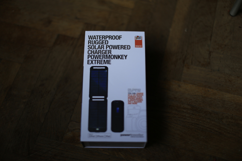 power monkey, solar power, charger, battery, bicycle touring, review, blog, cycling blog, renewable