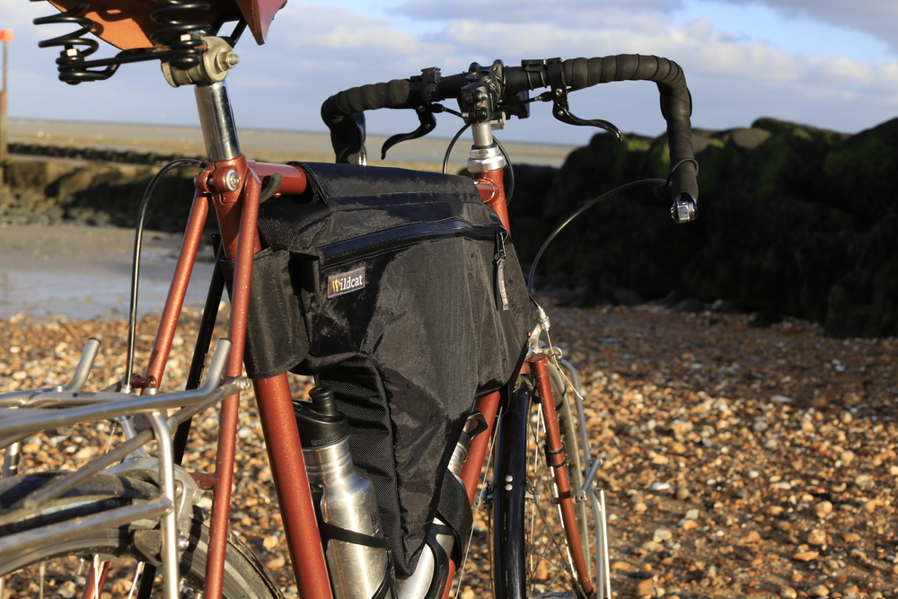 wildcat, wildcat gear, bikepacking, frame bag, custom tourer, cycle gear, review, cycling blog, cycling website