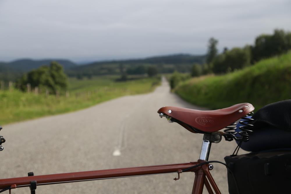 lejog, scotland, cycling blog, berghaus, berghaus.com, brooks, brooks saddle, brooks flyer, touring