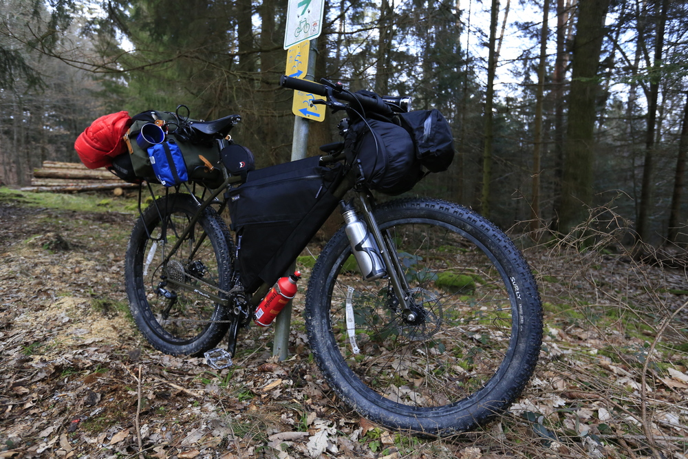 surly, surly ecr, trangia, knards, frame bag, wildcat gear, bicycle touring apocalypse