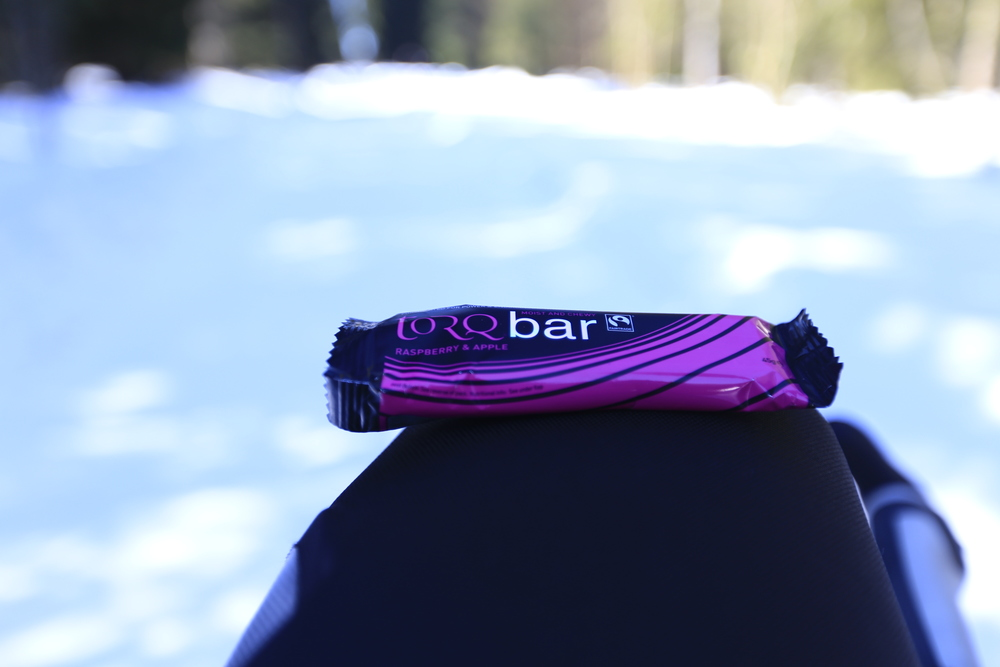 Quick energy boost courtesy of    Torq Bar  .