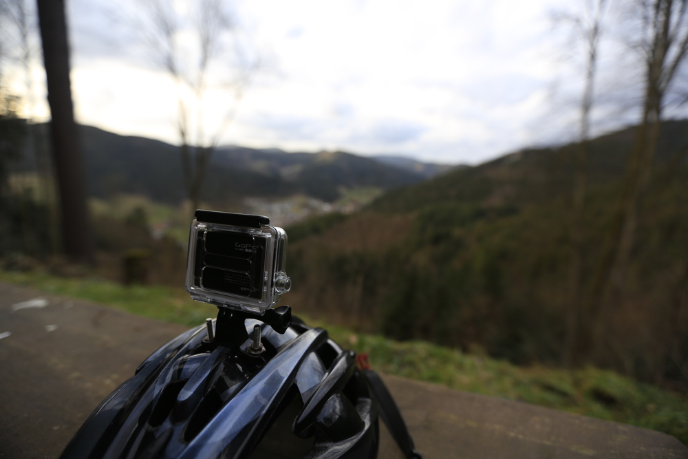gopro, gopro hero 3, gopro hero 4, be a hero, bikepacking, bikepacking blog, cycling, cycling blog, travel, adventure, review, black forest, bikepacking, woodland, singletrack, helmet, mtb, mountain biking