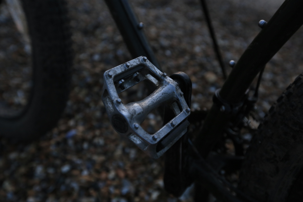 mtb, mtb pedals, bikepacking gear, bikepacking pedals, surly, surly ecr, bicycle touring apocalypse, cycling blog, bikepacking blog, gear review, blog