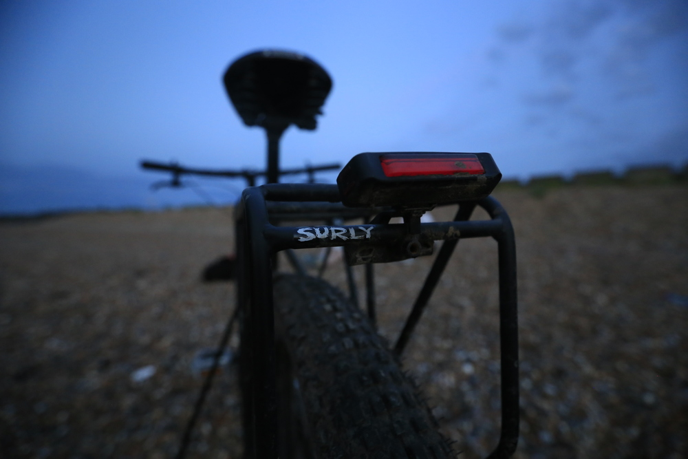 surly, surly ecr, pannier, surly rear rack, moon bike lights, knards, 29er, fat bike, bicycle touring apocalypse, brooks saddle, brooks flyer