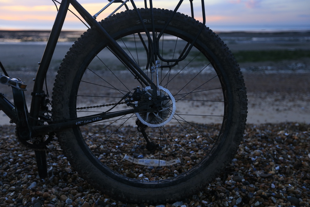 bikepacking, surly, surly ecr, cycle touring, bicycle, beach, photography, canon, canon 6d